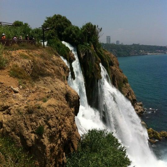 6/28/2012 tarihinde Sarahziyaretçi tarafından Düden Şelalesi'de çekilen fotoğraf