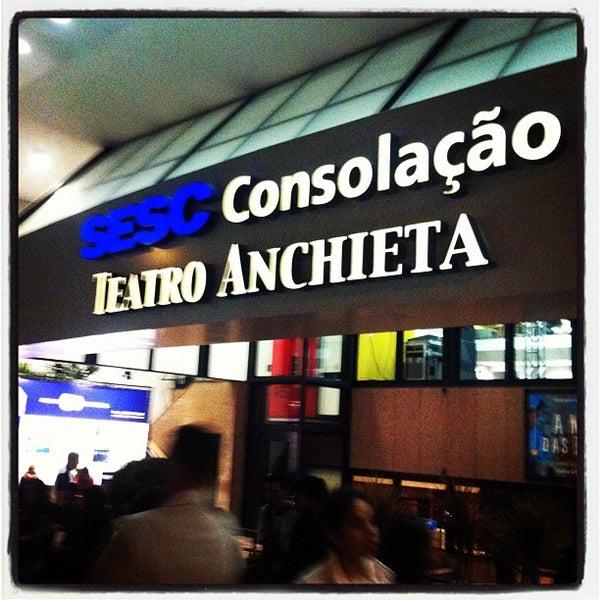 รูปภาพถ่ายที่ Sesc Consolação โดย Stenio M. เมื่อ 5/4/2012