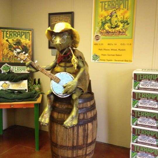 4/13/2012にTess G.がTerrapin Beer Co.で撮った写真