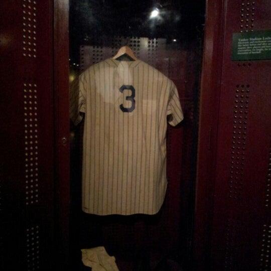 6/12/2012 tarihinde Erik d.ziyaretçi tarafından National Baseball Hall of Fame and Museum'de çekilen fotoğraf
