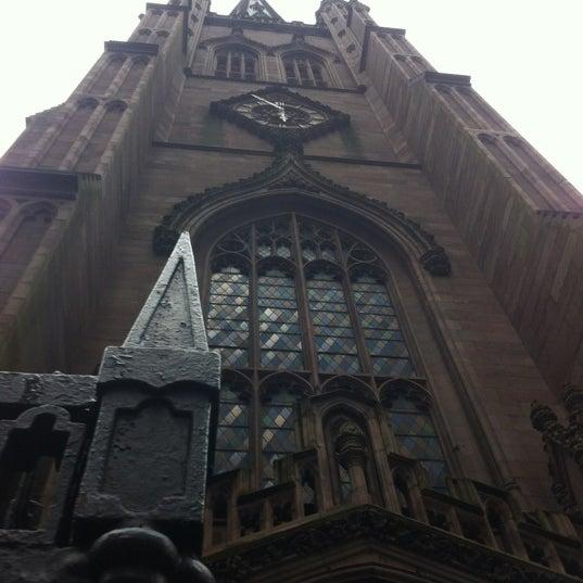Photo prise au Trinity Church par Priscilla B. le4/26/2012