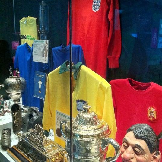 7/15/2012 tarihinde Bernardo M.ziyaretçi tarafından National Football Museum'de çekilen fotoğraf