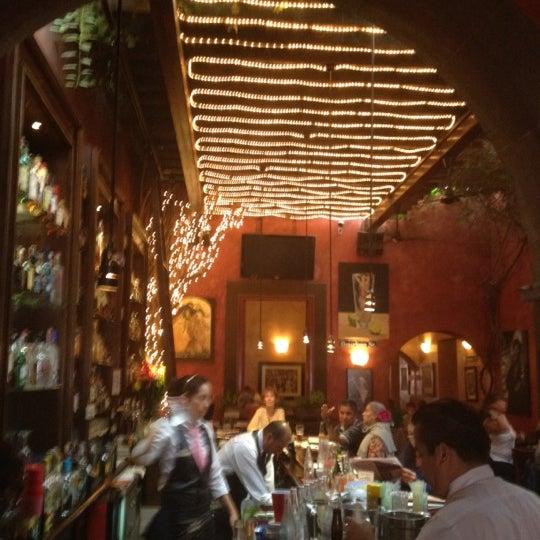 Photo taken at Hank's San Miguel de Allende by Mauricio L. on 8/18/2012