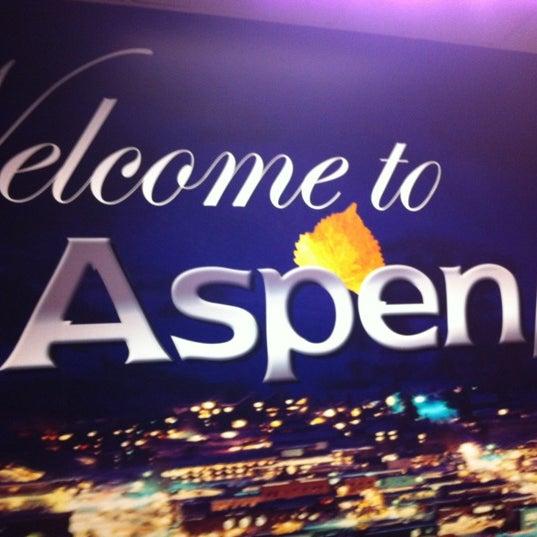 Photo prise au Aspen/Pitkin County Airport (ASE) par Andrea R. le2/24/2012