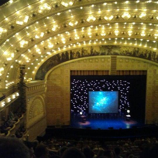 3/17/2012 tarihinde Ryan K.ziyaretçi tarafından Auditorium Theatre'de çekilen fotoğraf
