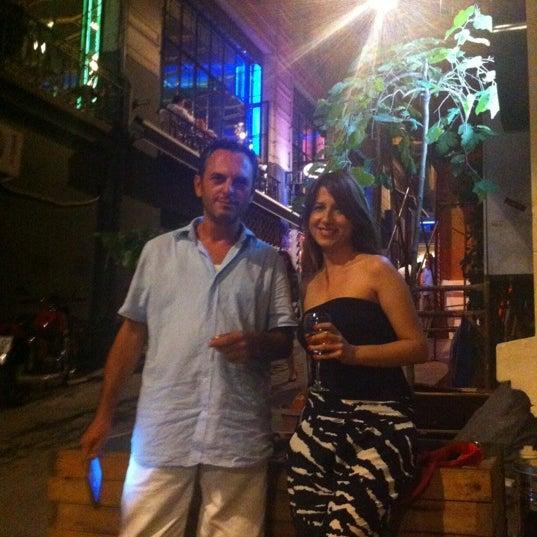 7/13/2012 tarihinde Merih G.ziyaretçi tarafından Mica Restaurant & Bar'de çekilen fotoğraf