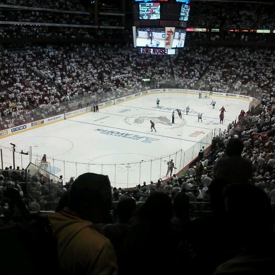 Photo prise au Gila River Arena par Donna B. le5/23/2012