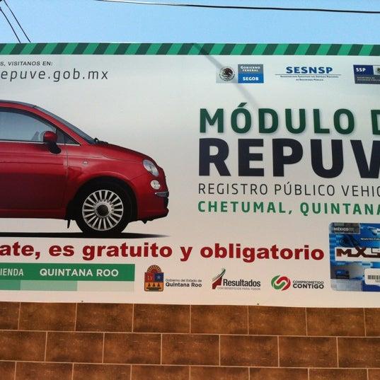 Control Vehicular Chetumal Quintana Roo