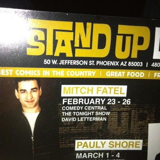 2/26/2012にMatthew C.がStand Up Liveで撮った写真