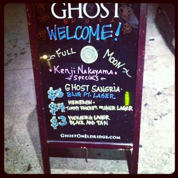 5/6/2012 tarihinde Keaton K.ziyaretçi tarafından Ghost'de çekilen fotoğraf