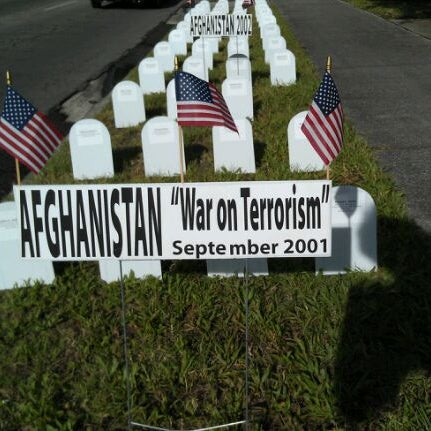 Veterans For Peace Memorial Mile >> Photos At Vets For Peace Memorial Mile Gainesville Fl
