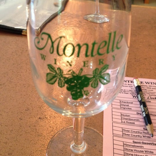 Photo taken at Montelle Winery by Lisa F. on 5/19/2012