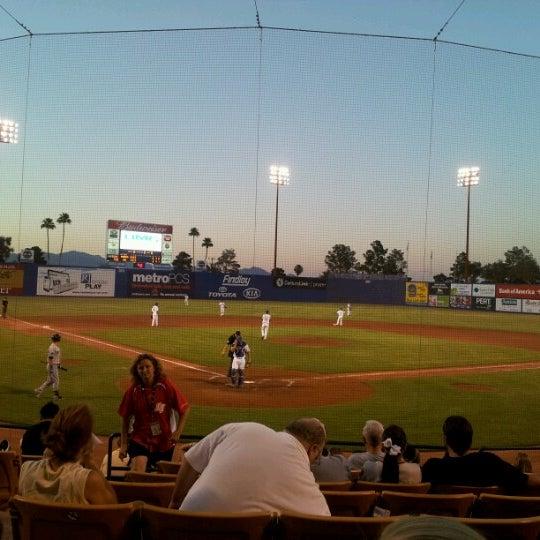 Photo prise au Cashman Field par Robert D. le6/12/2012