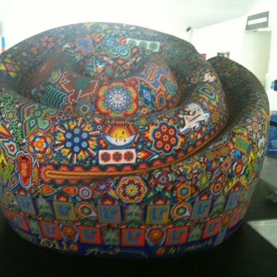 Снимок сделан в Museo de Arte Popular пользователем Victoria P. 8/26/2012