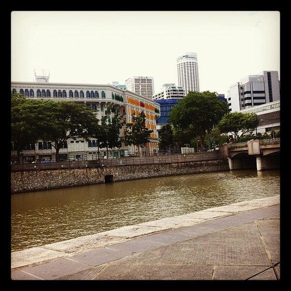 Photo prise au Singapore River par Wolfgang J. Pereira le7/8/2012