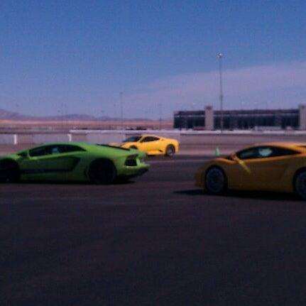 Снимок сделан в Exotics Racing пользователем Claudia Never the M. 2/26/2012