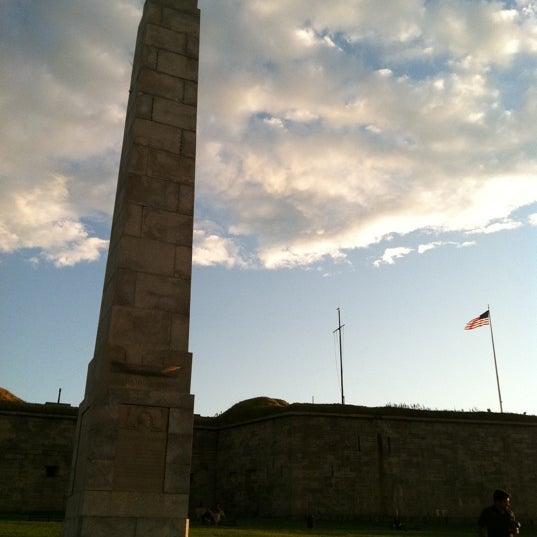 6/23/2012 tarihinde Jen P.ziyaretçi tarafından Castle Island'de çekilen fotoğraf