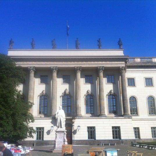 9/1/2012에 jordi m.님이 Humboldt-Universität zu Berlin에서 찍은 사진