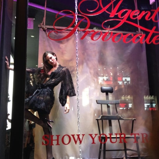Photo taken at Agent Provocateur by Courtney B. on 9 7 2012 9a45b3285
