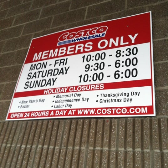 Costco Christmas Eve Hours.Costco Wholesale Warehouse Store In Tacoma