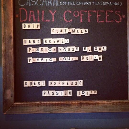 8/7/2012에 Noel L.님이 The Wormhole Coffee에서 찍은 사진