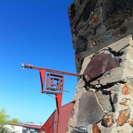 Снимок сделан в Taliesin West пользователем Irene L. 4/29/2012
