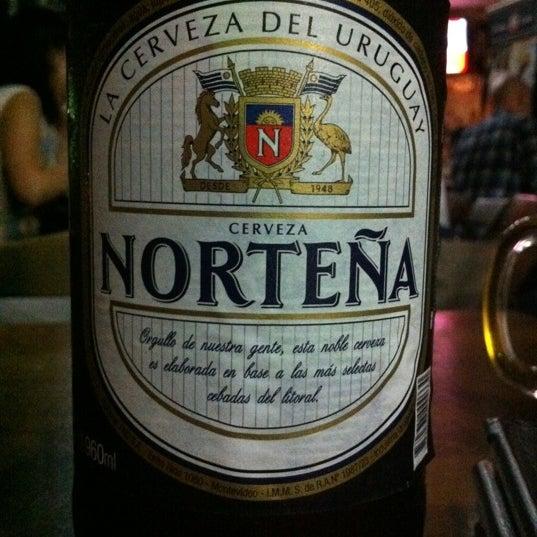 Aqui tem todas as cervejas que vc possa imaginar.... Mas a melhor eh a Norteña....
