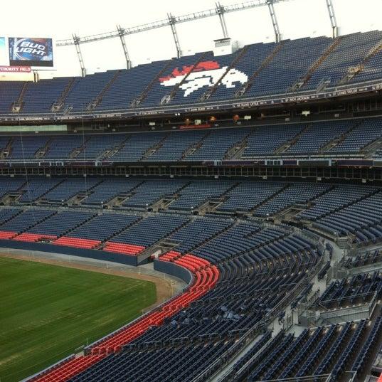 Foto diambil di Broncos Stadium at Mile High oleh Curt W. pada 3/31/2012