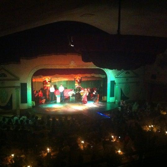 Foto tomada en Tablao Flamenco El Palacio Andaluz por Edu C. el 6/8/2012