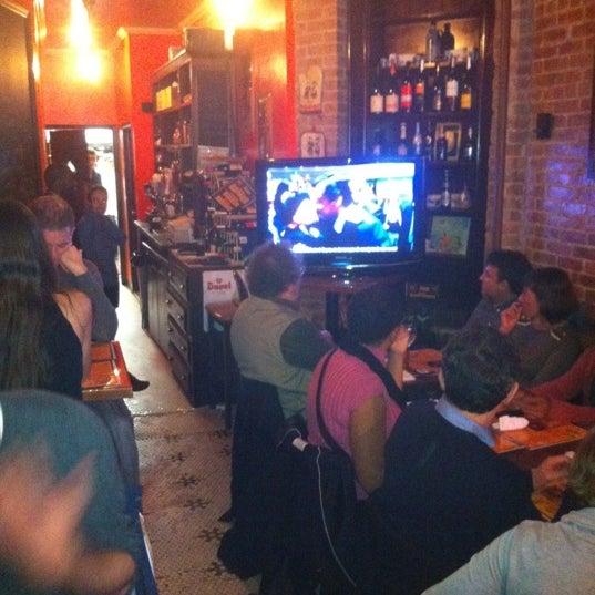 Das Foto wurde bei La Tarte Flambee von Geoff S. am 4/22/2012 aufgenommen