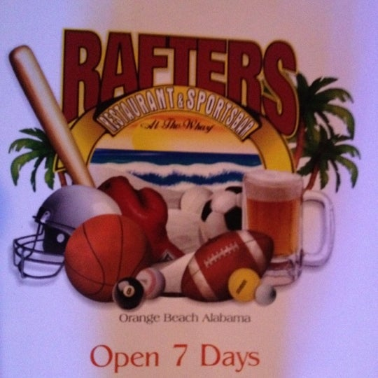 Photo Taken At Rafters Restaurant Sports Bar By Zach D On