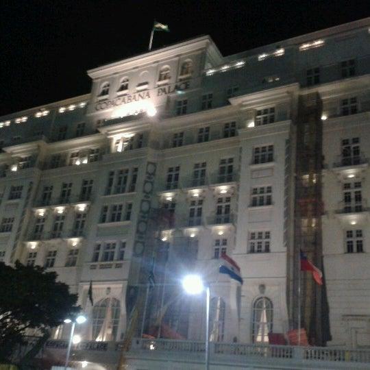 7/28/2012에 Luiz S.님이 Belmond Copacabana Palace에서 찍은 사진
