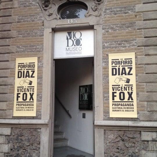 Das Foto wurde bei MODO Museo del Objeto del Objeto von Inti A. am 3/3/2012 aufgenommen
