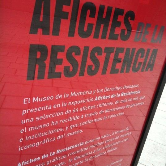 Foto diambil di Museo de la Memoria y los Derechos Humanos oleh Claudio C. pada 5/31/2012