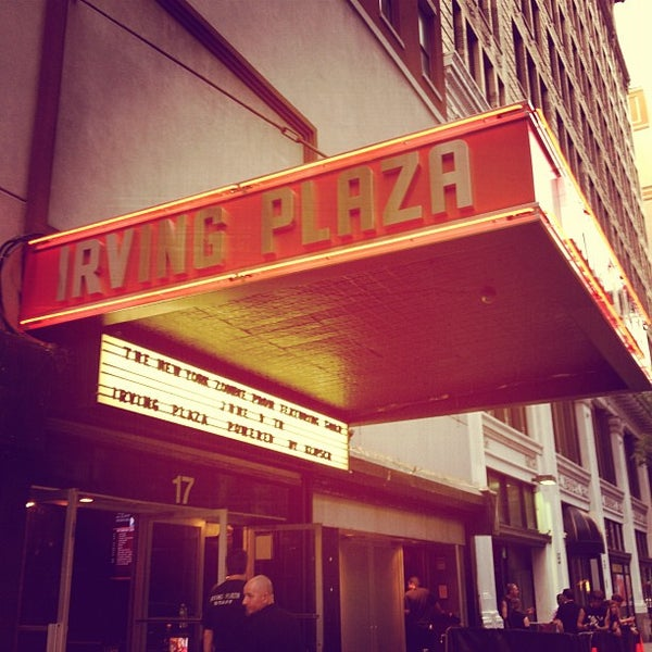 Das Foto wurde bei Irving Plaza von Patrick F. am 6/9/2012 aufgenommen