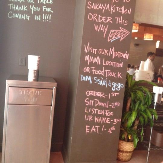 Das Foto wurde bei Sakaya Kitchen von Renata T. am 7/3/2012 aufgenommen