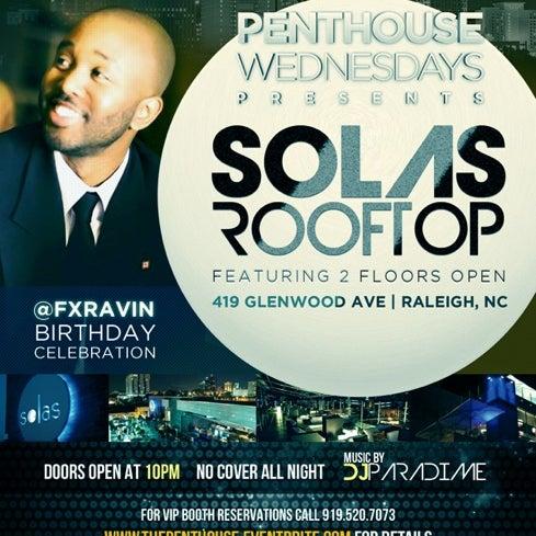 Снимок сделан в Solas Lounge & Rooftop Bar пользователем @fxravin 8/23/2012