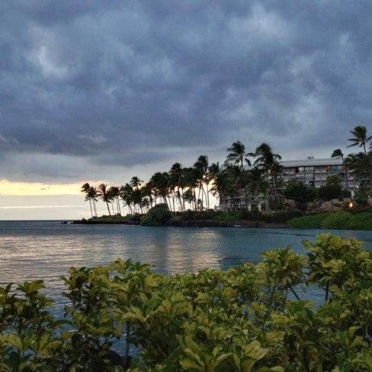 Foto tomada en Hilton Waikoloa Village por Kazu S. el 5/10/2012