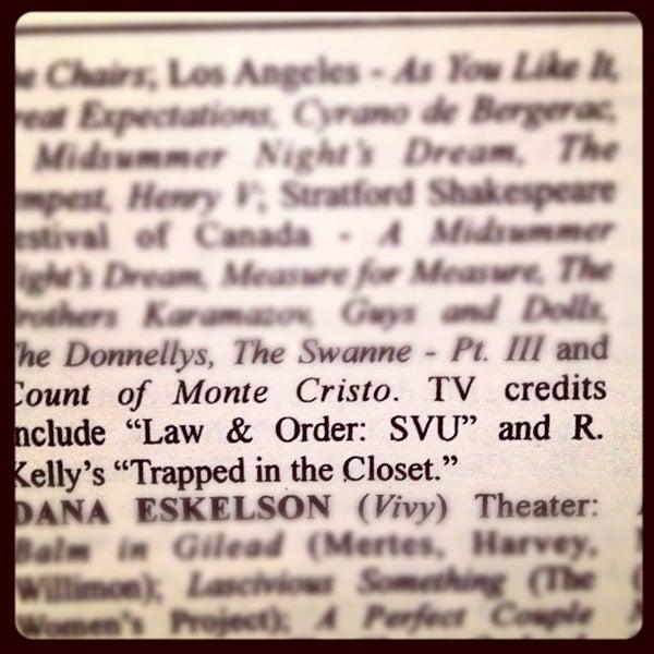 Das Foto wurde bei Rattlestick Playwrights Theater von Jesse B. am 4/14/2012 aufgenommen