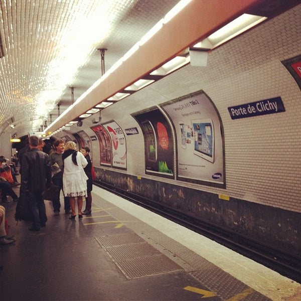 Photos At Metro Porte De Clichy 13 Batignolles 2 Tips