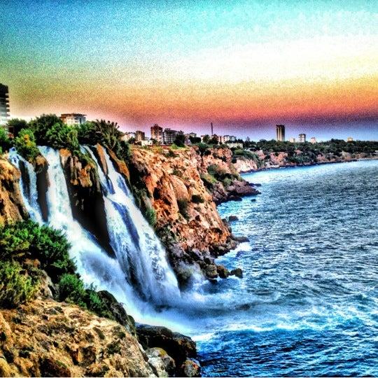 8/26/2012 tarihinde Onur K.ziyaretçi tarafından Düden Şelalesi'de çekilen fotoğraf