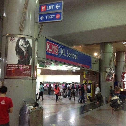 RapidKL KL Sentral (KJ15) LRT Station