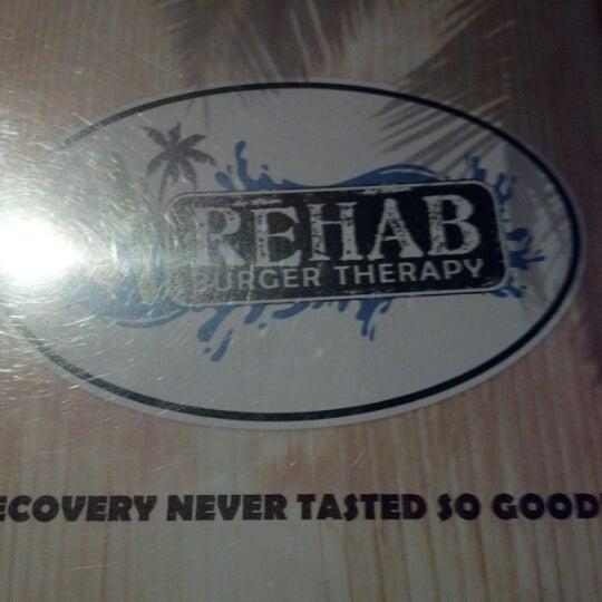 8/6/2012에 Joe O.님이 Rehab Burger Therapy에서 찍은 사진