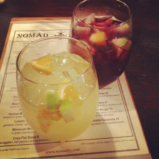 Photo prise au Nomad Restaurant par Abby le8/11/2012