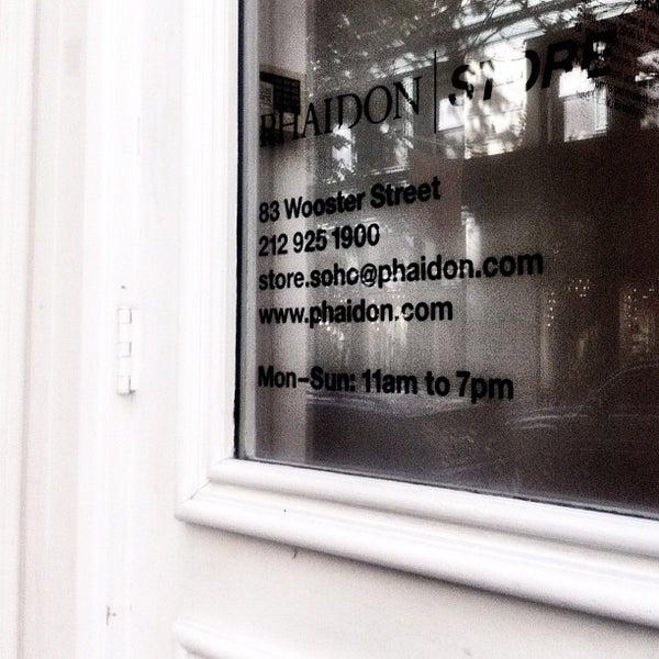 Phaidon (Now Closed) - SoHo - New York, NY