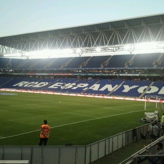 Foto diambil di RCDE Stadium oleh Andreu P. pada 8/3/2012