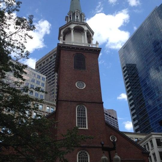 7/12/2012 tarihinde Joycee O.ziyaretçi tarafından Old South Meeting House'de çekilen fotoğraf