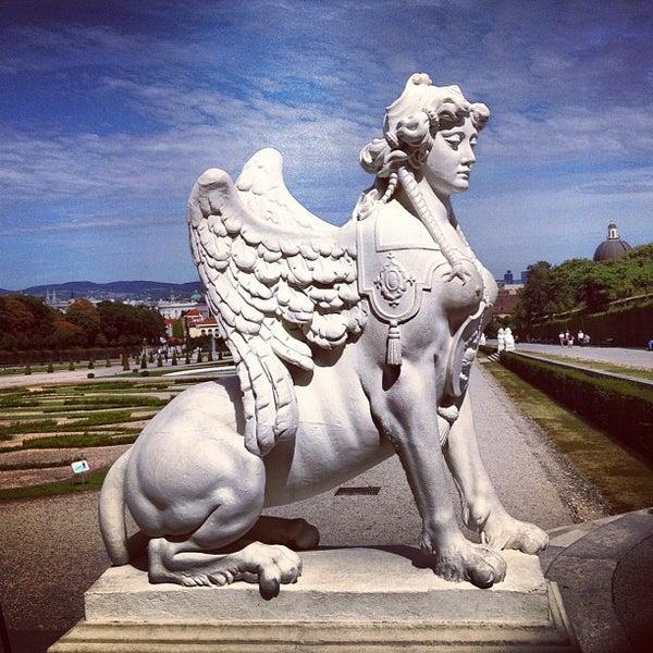 8/29/2012 tarihinde ¡ B.ziyaretçi tarafından Oberes Belvedere'de çekilen fotoğraf