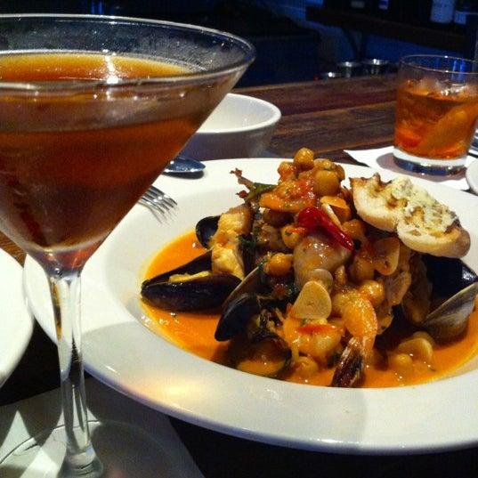 Das Foto wurde bei Campagnolo Restaurant + Bar von Arianne F. am 4/18/2012 aufgenommen