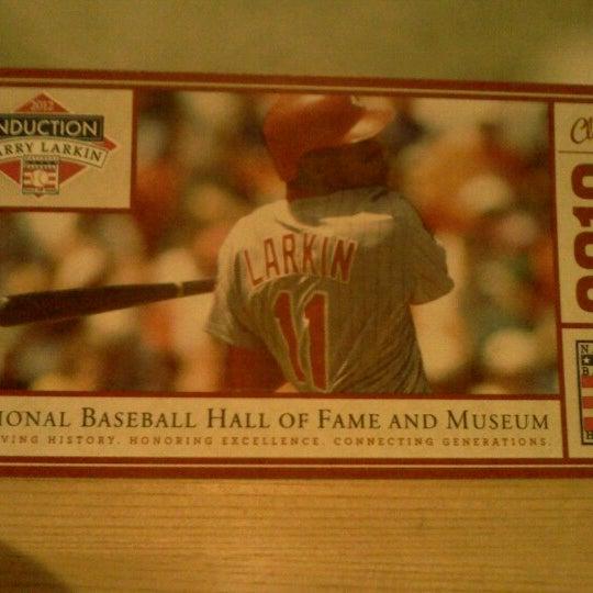 8/29/2012 tarihinde Nicholas M.ziyaretçi tarafından National Baseball Hall of Fame and Museum'de çekilen fotoğraf